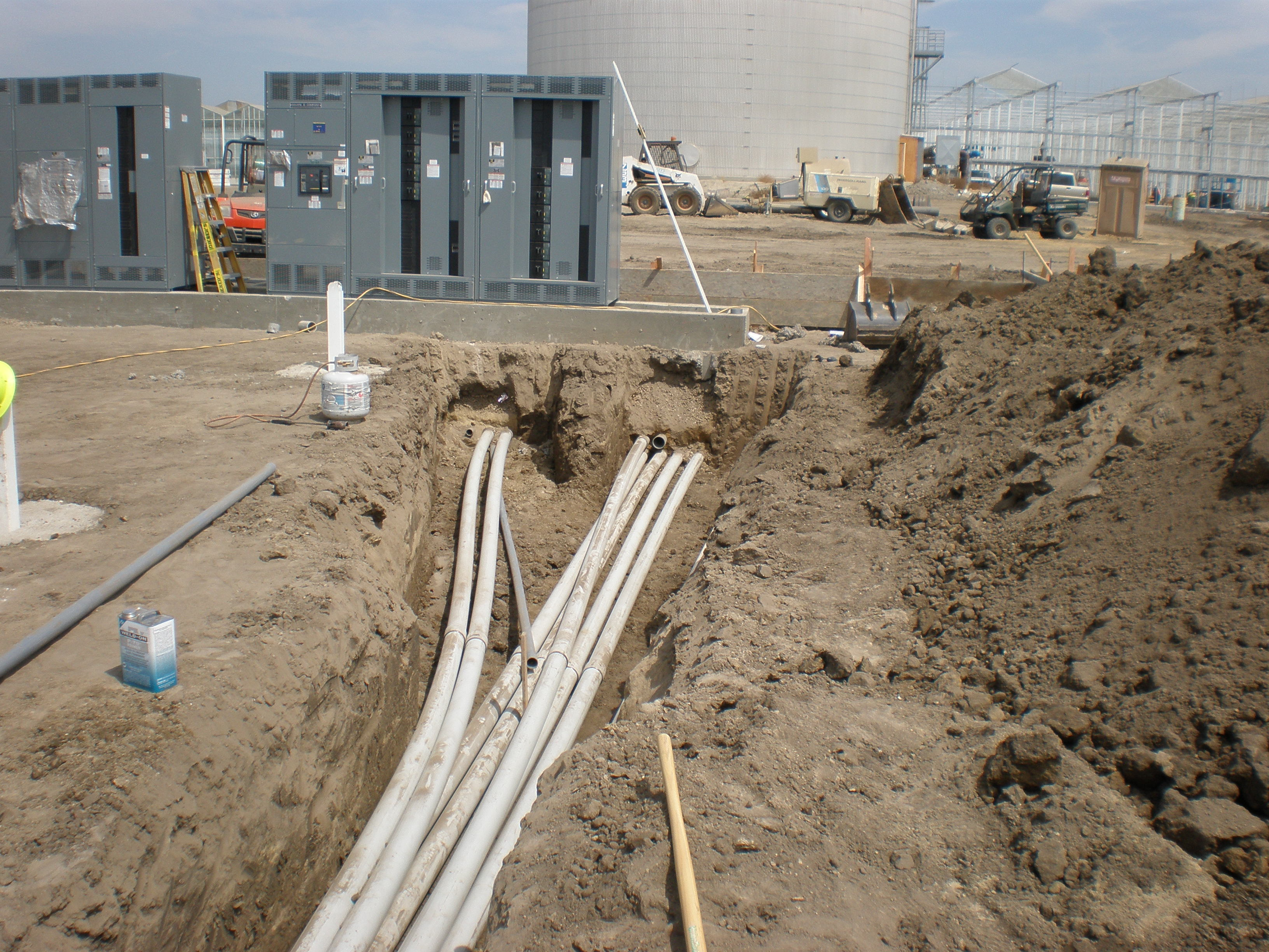 Telemetry Controls Pull Box Vault Underground Structures Sce Telephone Catv Private Electrical Communications Gas Line Installation